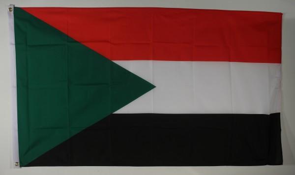 Flagge Fahne Sudan 90x60 cm