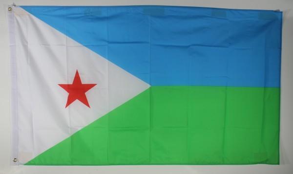 Flagge Fahne : Dschibuti Dschibutiflagge Nationalflagge Nationalfahne