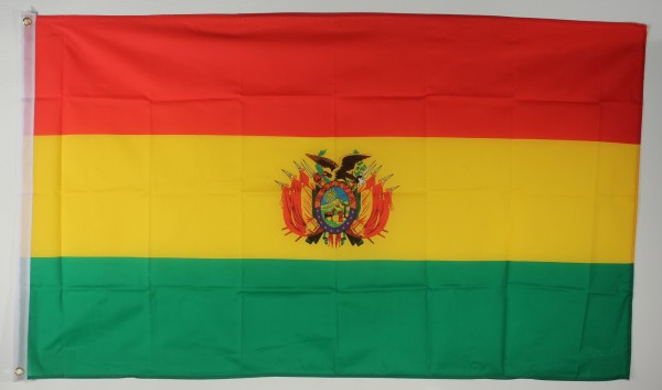 Flagge Fahne : Bolivien Bolivienflagge Nationalflagge Nationalfahne
