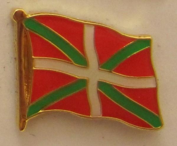 Pin Anstecker Flagge Fahne Baskenland Flaggenpin Button Badge Flaggen Clip Anstecknadel