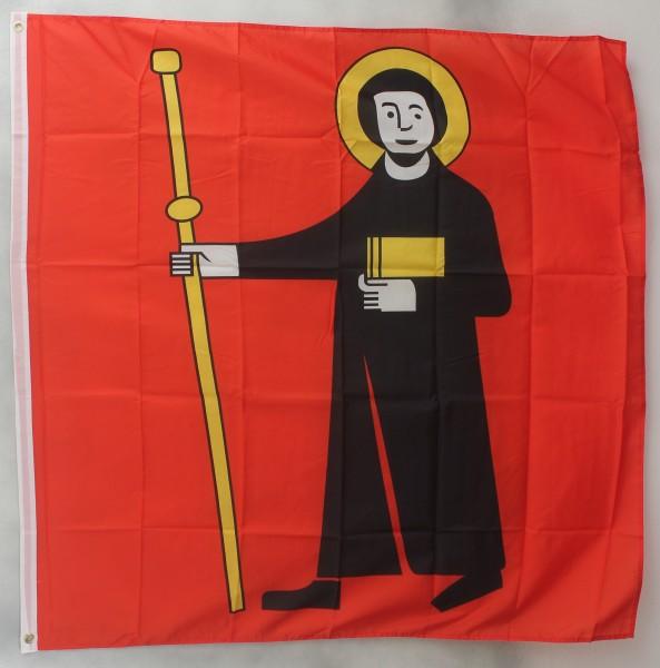 Flagge Fahne : Glarus Kanton Schweiz Schweizerfahne