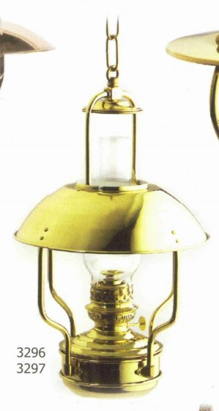 Deckenlampe Messing