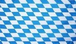 Flagge Fahne Bayern kleine Rauten 90x60 cm