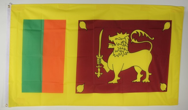 Flagge Fahne : Sri Lanka Nationalflagge Nationalfahne