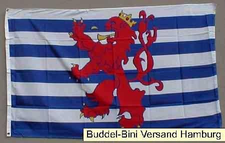 Flagge Fahne Luxemburg mit Wappen 90x60 cm