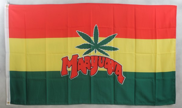 Flagge Fahne : Marijuana Flag