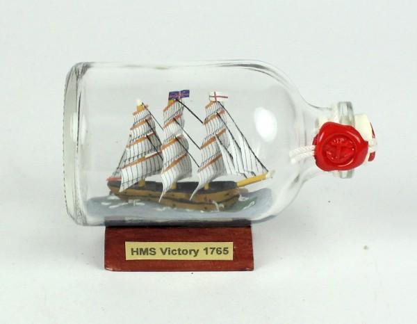 HMS Victory Lord Nelson Mini Buddelschiff 50 ml ca. 7,2 x 4,5 cm Flaschenschiff