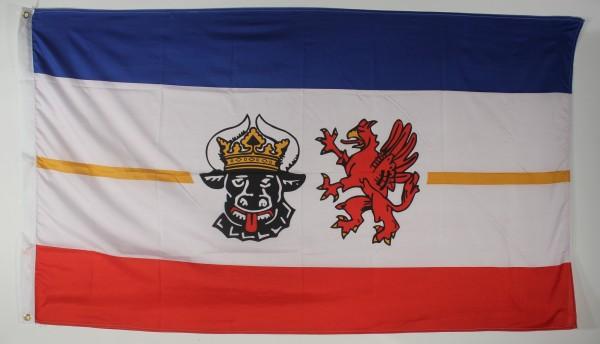 Flagge Fahne Mecklenburg Vorpommern 90x60 cm