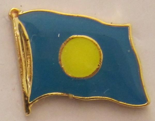 Palau Pin Anstecker Flagge Fahne Nationalflagge