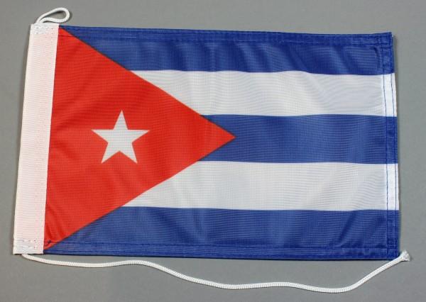 Bootsflagge : Kuba 30x20 cm Motorradflagge