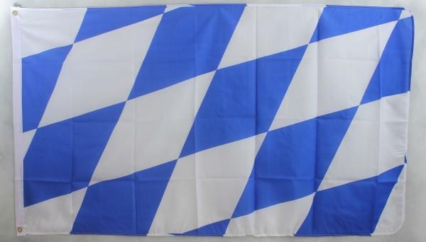 Flagge Fahne Bayern große Raute bayerische Bayernflagge