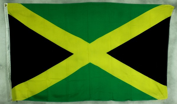Flagge Fahne Jamaika 90x60 cm