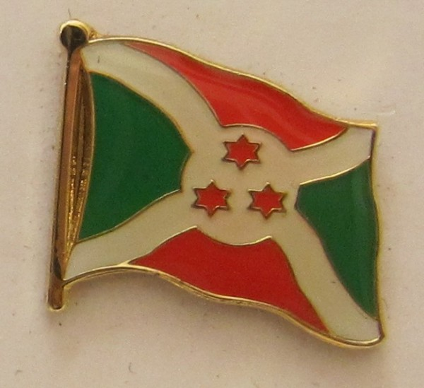 Burundi Pin Anstecker Flagge Fahne Nationalflagge