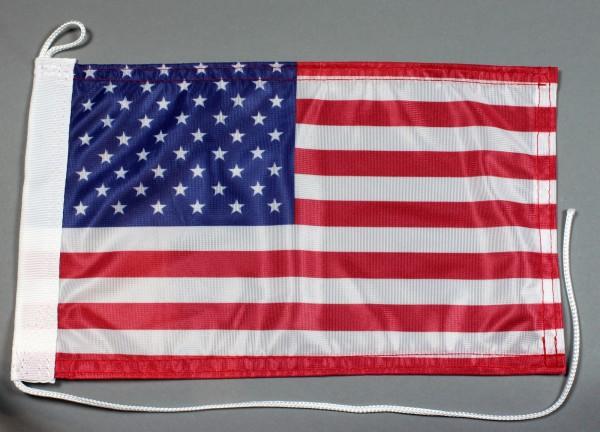 Bootsflagge : USA Amerika 30x20 cm Motorradflagge
