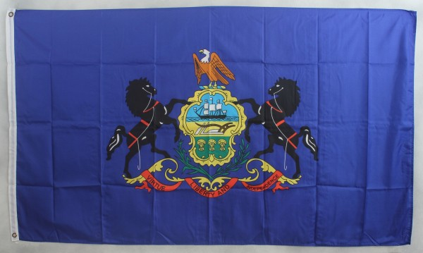 Flagge Fahne : Pennsylvania