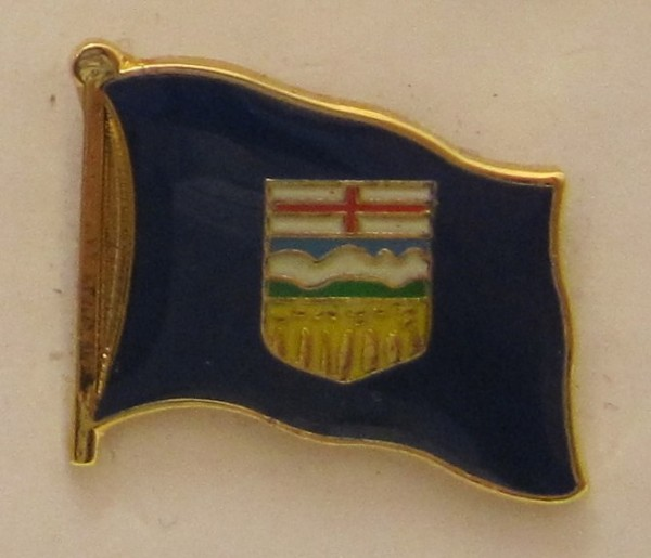 Alberta Kanada Pin Anstecker Flagge Fahne Nationalflagge