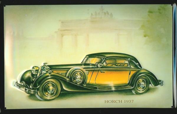 Blechschild Horch 1937 Nostalgieschild Schild