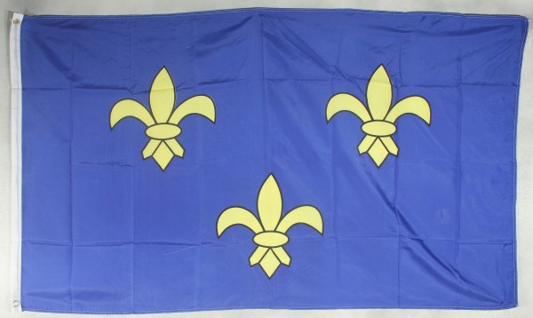 Flagge Fahne : Fleur de Lys Bourbonen Königshaus Frankreich Lilien
