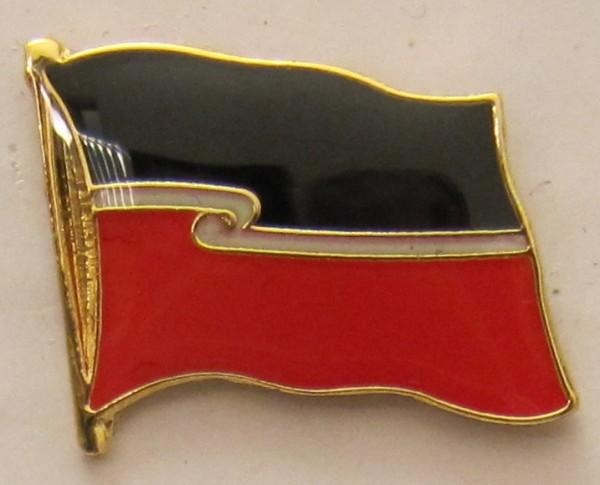 Maori - Neuseeland Pin Anstecker Flagge Fahne