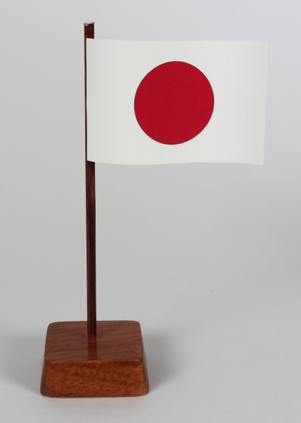 Mini Tischflagge Japan Höhe 13 cm Tischfähnchen