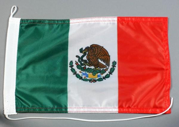 Bootsflagge : Mexiko 30x20 cm Motorradflagge