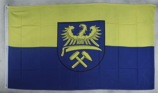 Flagge Fahne Oberschlesien Ober Schlesien Schlesienflagge