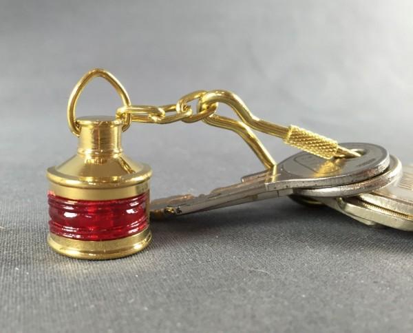 Schlüsselanhänger Positionslampe rot