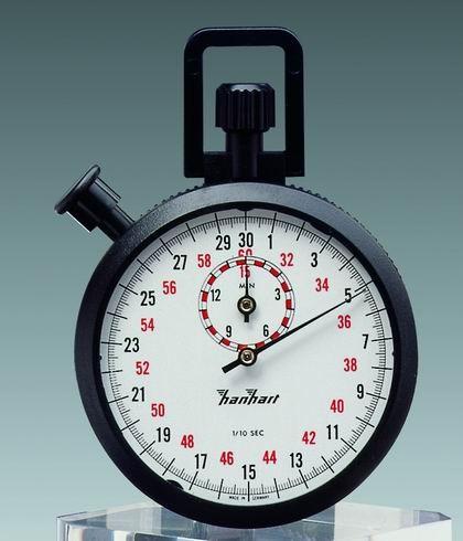 Mechanische Stoppuhr Hanhart ABS 1/10 sec 15 min