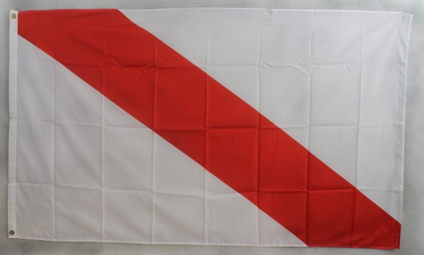 Flagge Fahne : Strassburg Frankreich Elsass Strassburgflagge