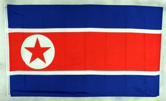 Flagge Fahne Nordkorea 90x60 cm