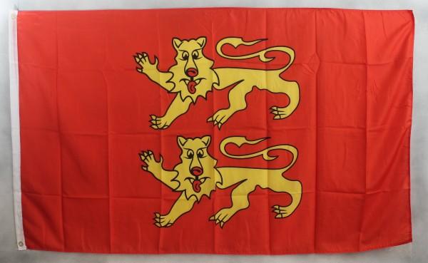 Flagge Fahne : Basse Normandie Frankreich Normandieflagge