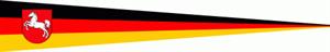 Langwimpel Niedersachsen 30x150 cm
