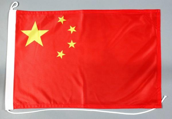 Bootsflagge China 30x45 cm Motorradflagge Bootsfahne