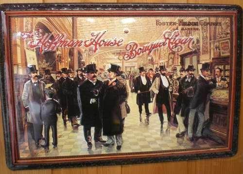 Blechschild The Hoffman House Bouquet Cigar Zigarren Schild retro Werbeschild Nostalgieschild