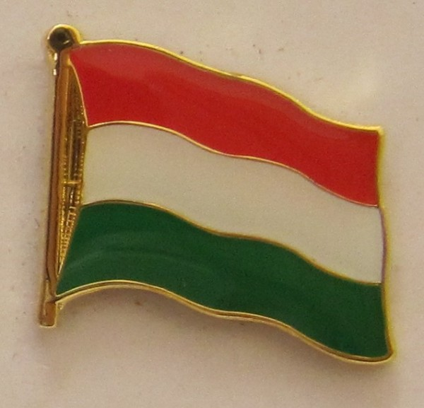 Pin Anstecker Flagge Fahne Ungarn Nationalflagge