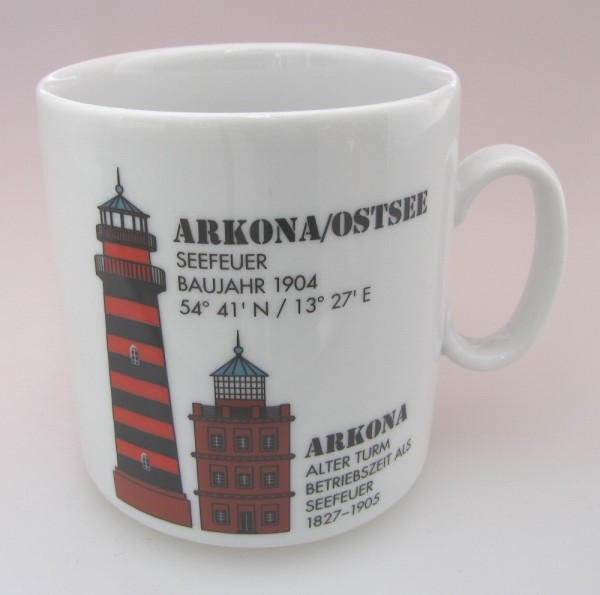 Leuchtturm Becher Arkona / Ostsee