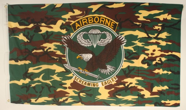 Flagge Fahne : Airborne dunkel Airbornflagge US Airforce