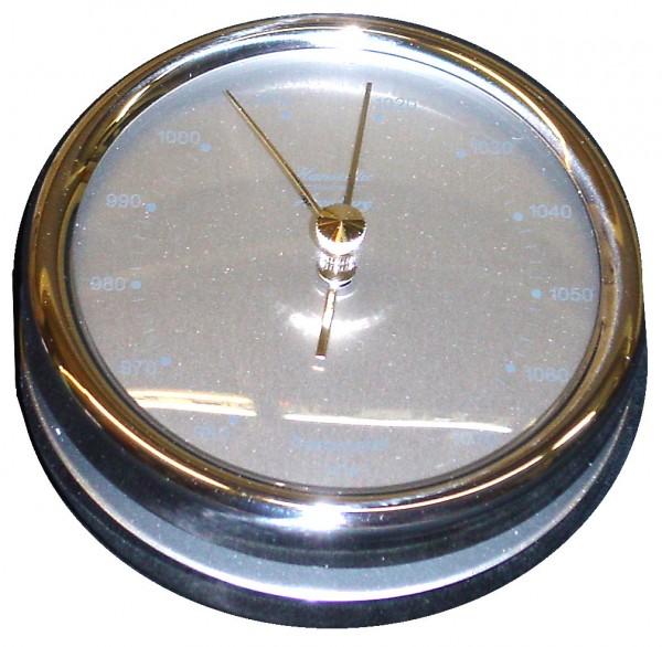 Schiffsbarometer 102 mm Edelstahl poliert