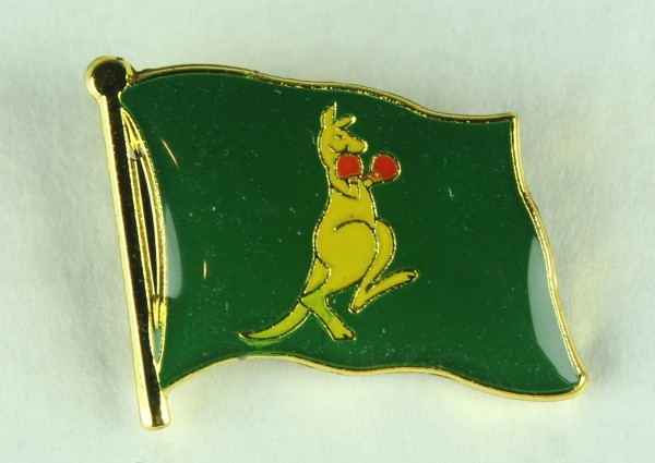 Australien Känguruh Boxer Pin Anstecker Flagge Fahne