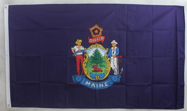 Flagge Fahne : Maine