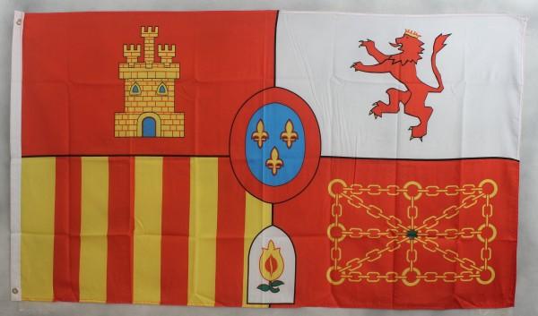 Flagge Fahne : Spanien Royal