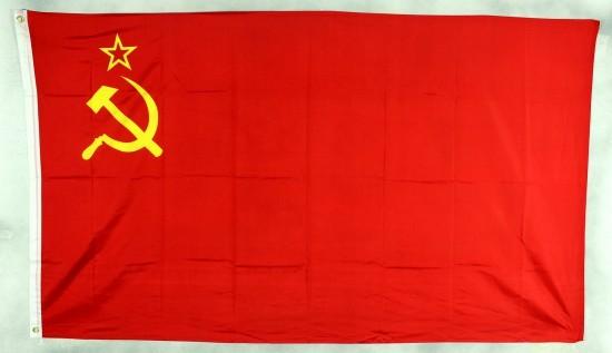 Sowjetunion UdSSR Flagge Großformat 250 x 150 cm wetterfest