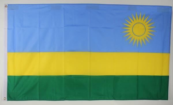 Flagge Fahne : Ruanda Ruandaflagge Nationalflagge Nationalfahne