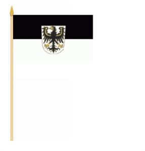 Stockflagge Ostpreussen 30x45cm