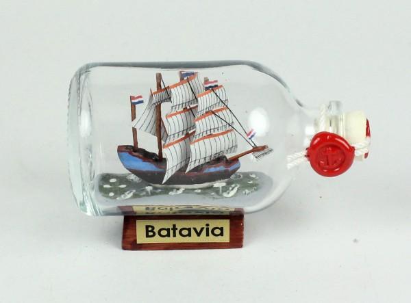 Batavia Mini Buddelschiff 50 ml ca. 7,2 x 4,5 cm Flaschenschiff