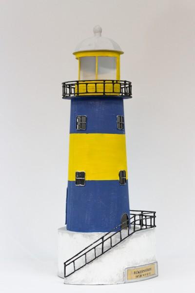 Blechleuchtturm Eckernförde 43,5 cm Leuchtturm mit Teelichthalter