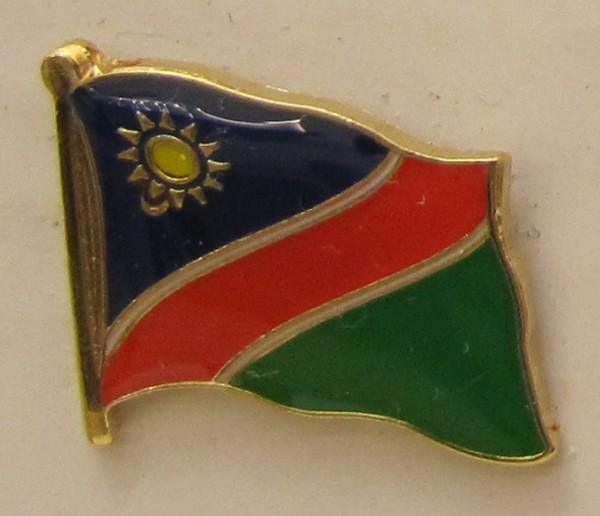 Namibia Pin Anstecker Flagge Fahne Nationalflagge