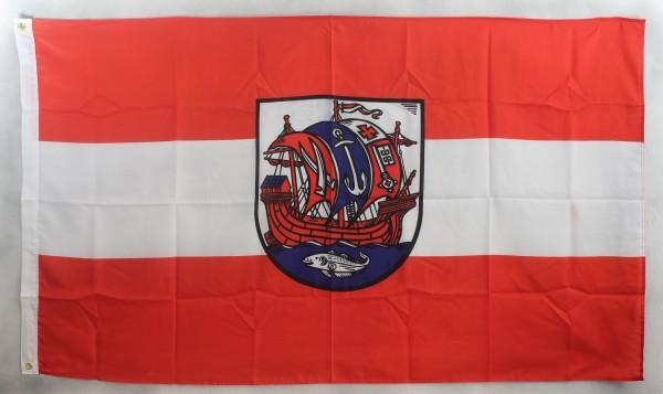 Flagge Fahne Bremerhaven Bremerhafen stllisiert inoffiziell