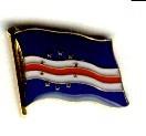 Kap Verde Pin Anstecker Flagge Fahne Nationalflagge